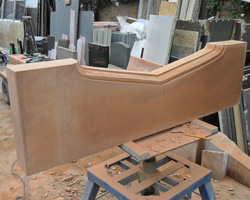 Sandstone fire surrounds to your own design